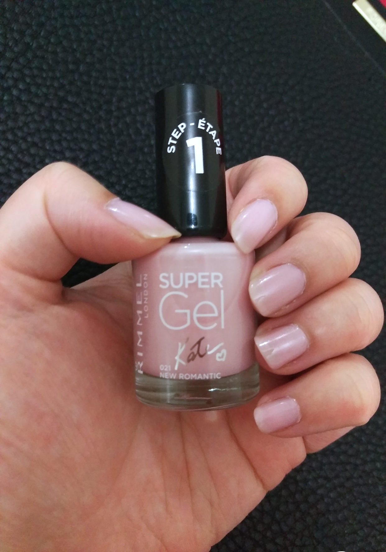 Mini Review Rimmel Super Gel Nail Polish